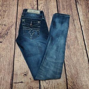 Women's Rock Revival Alivia Skinny Jeans Size 25